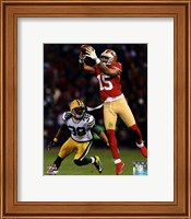 Michael Crabtree 2012 NFC Divisional Playoff Action Fine Art Print