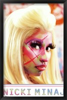 Nicki Minaj - Face Paint Fine Art Print