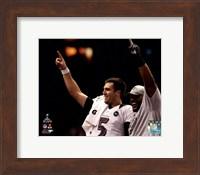 Joe Flacco & Ray Lewis Super Bowl XLVII Celebration Fine Art Print