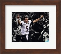 Joe Flacco Super Bowl XLVII Spotlight Celebration Fine Art Print