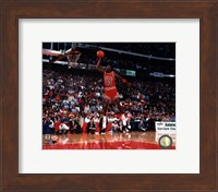 Michael Jordan 1988 NBA Slam Dunk Contest Action Fine Art Print