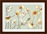 White And Bright Poppies Fine Art Print