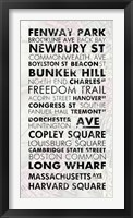 Boston Cities I Fine Art Print