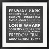 Boston Cities Fine Art Print