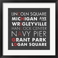 Chicago Cities Fine Art Print