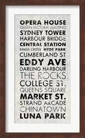 Sydney I Fine Art Print