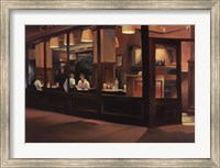 Cafe Europa Fine Art Print