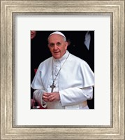 Pope Francis I, Cardinal Jorge Mario Bergoglio  in Rome, March 14, 2013 Fine Art Print