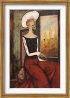 La Chapeau Blanc Fine Art Print