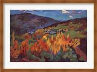 Golden Poplars Fine Art Print