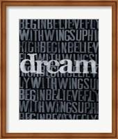 Dream, Imagine... I Fine Art Print