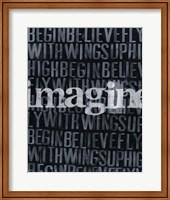 Dream, Imagine... II Fine Art Print