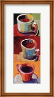 Three Cups o' Joe II Fine Art Print