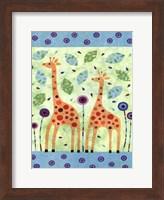 Giraffe Pair Fine Art Print