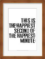 The Happiest III Fine Art Print