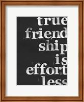 Friendship I Fine Art Print