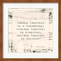 Coming Together Fine Art Print