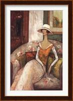 La Chaise Fleurie Fine Art Print
