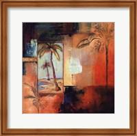 Palm View I Fine Art Print
