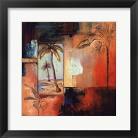 Palm View I Fine Art Print