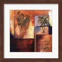 Palm View II Fine Art Print