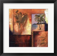 Palm View II Fine Art Print
