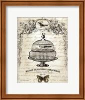 French Birdcage I Fine Art Print