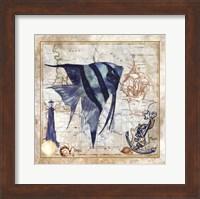 Nautical Fish I Fine Art Print