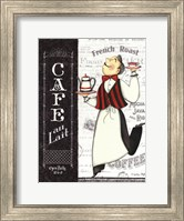 Cafe Waiter Fine Art Print