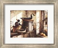 Crocks And Fowl Fine Art Print
