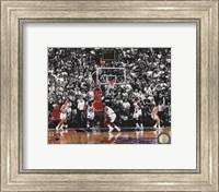 Michael Jordan 1998 NBA Finals Game Winning Shot Fine Art Print