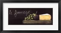 Chalkboard Menu III- Fromage Fine Art Print