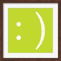 Lime Smiley Fine Art Print