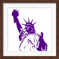 Liberty in Purple Fine Art Print