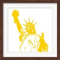 Liberty in Yellow Fine Art Print
