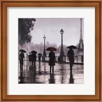 Paris Red Umbrella Fine Art Print