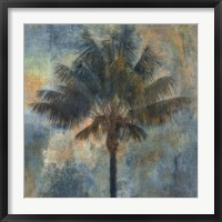 Palm and Blue Fine Art Print