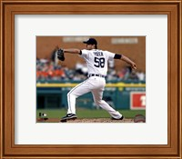 Doug Fister 2013 Action Fine Art Print