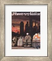 Power that serves the Nation Fine Art Print