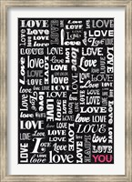 Love YOU Fine Art Print