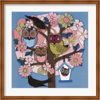 Summer Owl Tree Fine Art Print