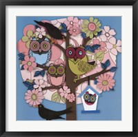 Summer Owl Tree Fine Art Print