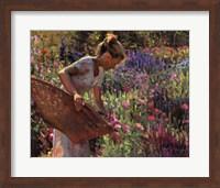 In the Garden Fine Art Print