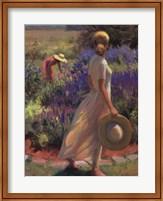 Garden Breeze Fine Art Print