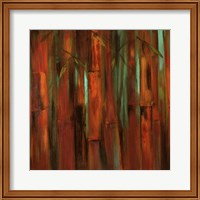 Sunset Bamboo I Fine Art Print
