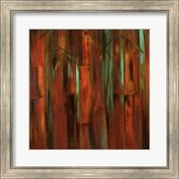 Sunset Bamboo I Fine Art Print