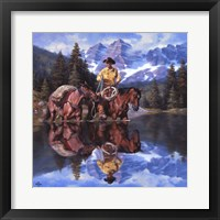 Reflections of the Rockies Fine Art Print