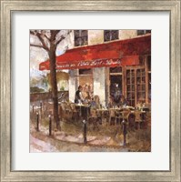 Cafe Saint-Louis Fine Art Print