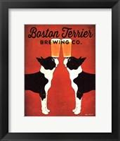 Boston Terrier Brewing Co. Fine Art Print