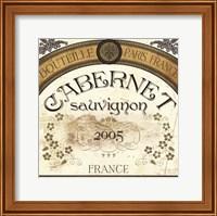 Wine Labels I Fine Art Print